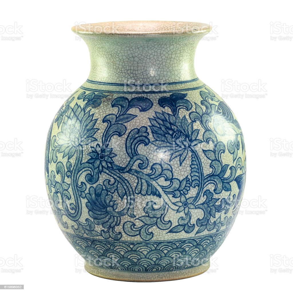 chinese porcelain stock photo