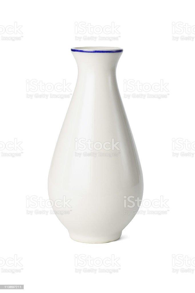 Chinese porcelain vase stock photo