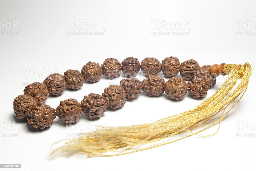 Chinese Prayer beads royalty-free stock photo