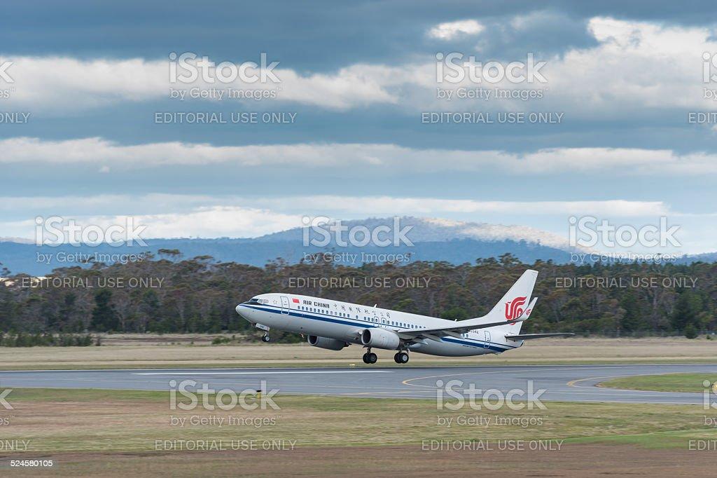 Presidente da China Xi Jinping visitar em Hobart, Tasmânia foto royalty-free