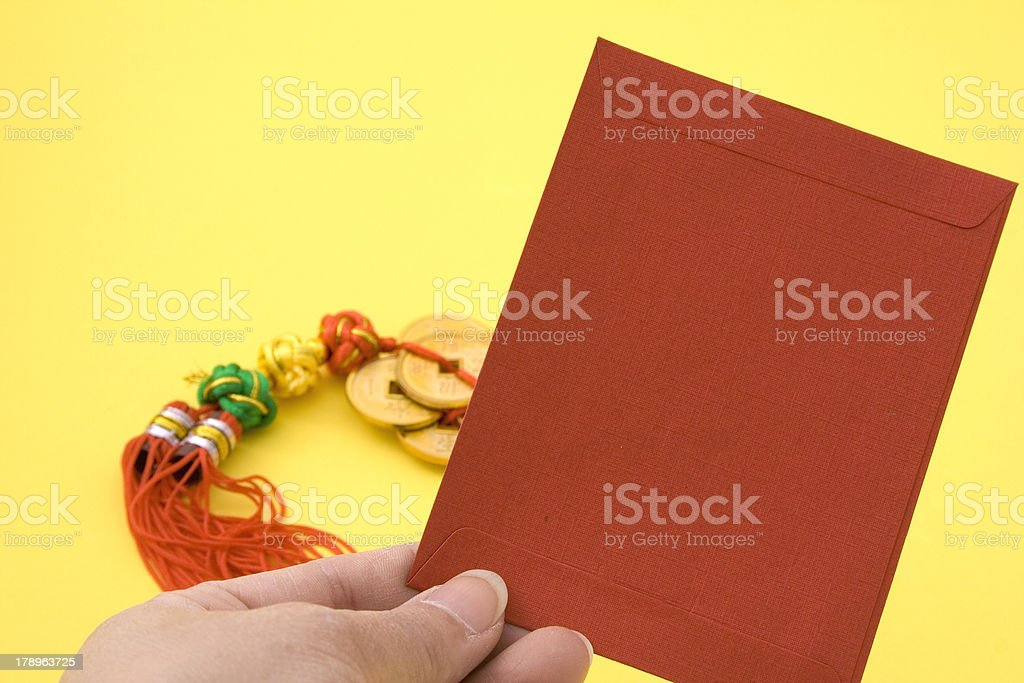Chinese Red Envelope royalty-free stock photo