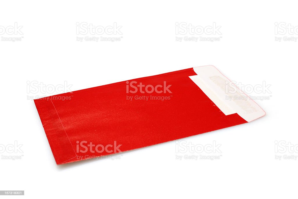Chinese Red Pocket stock photo