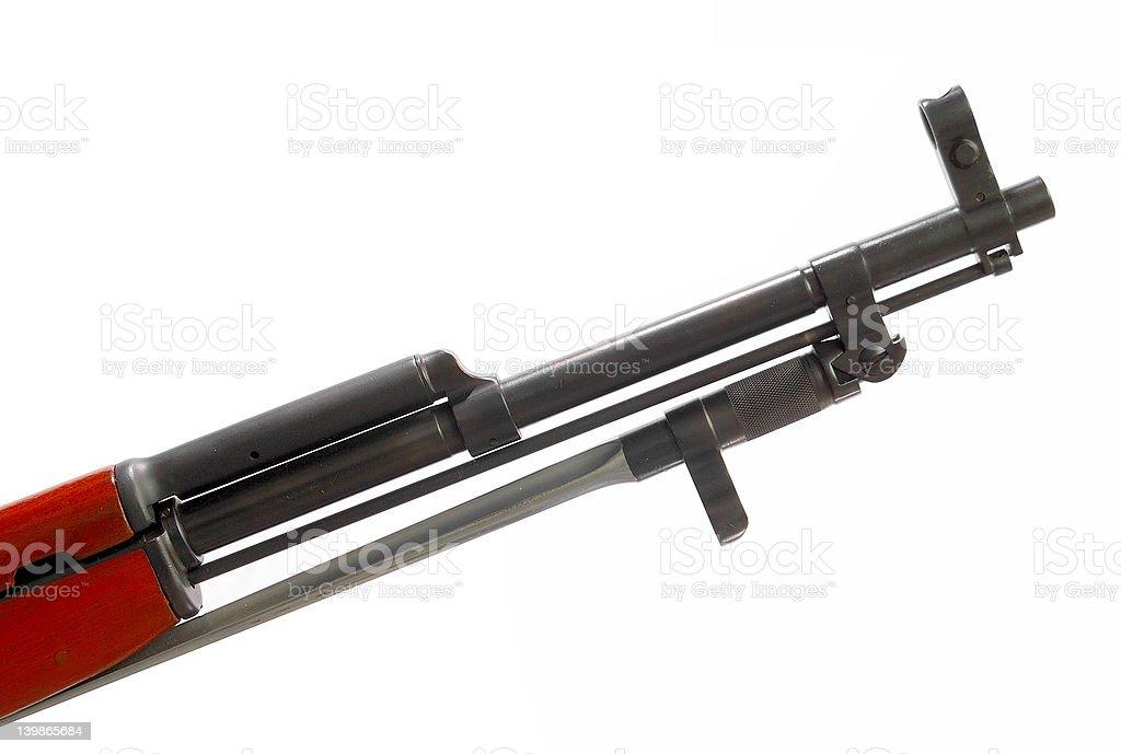 Chinese rifle stock photo