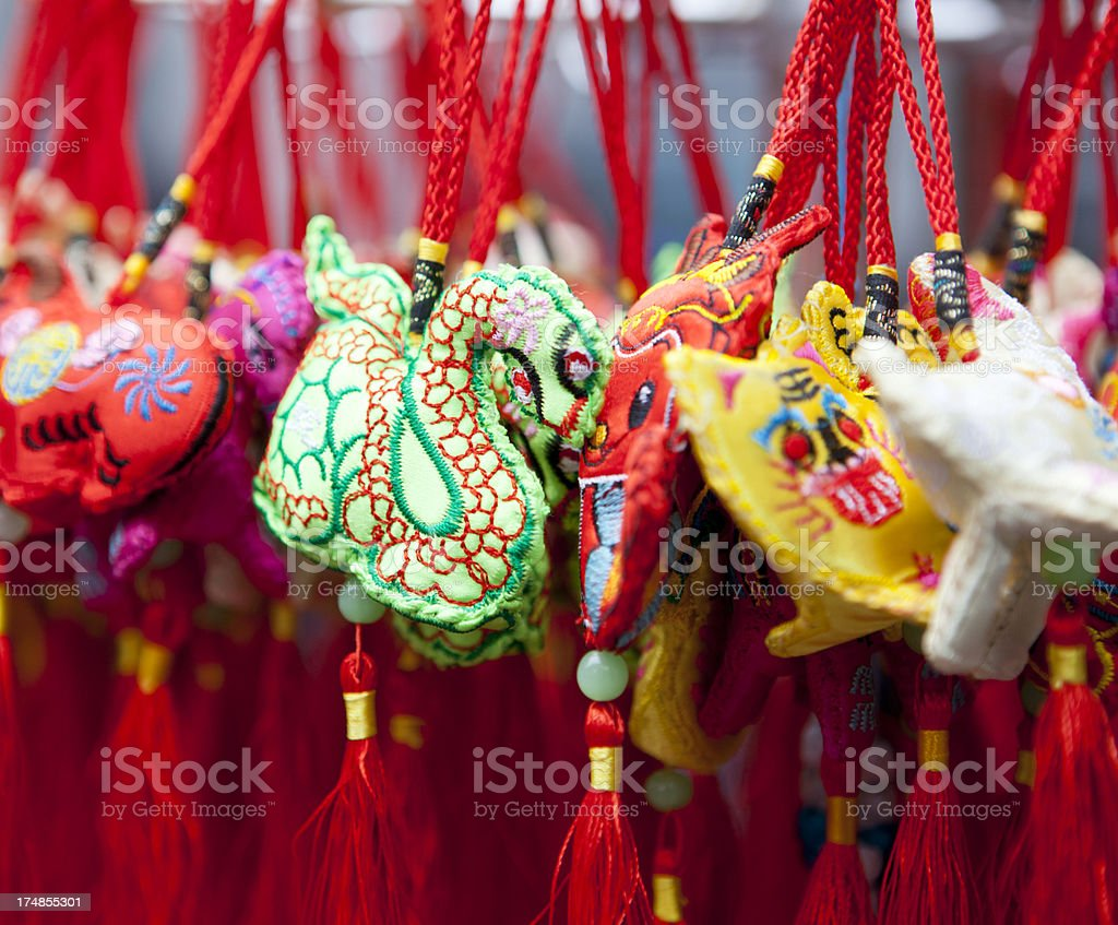Chinese Sachet royalty-free stock photo