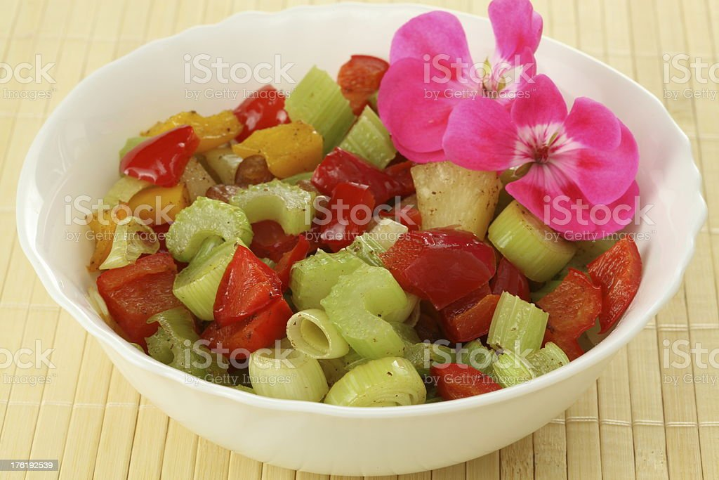 Chinese salad stock photo