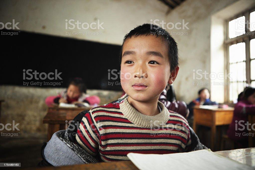 Chinese School Child royalty-free stock photo
