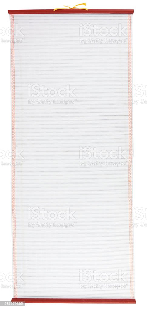 Chinese Scroll stock photo