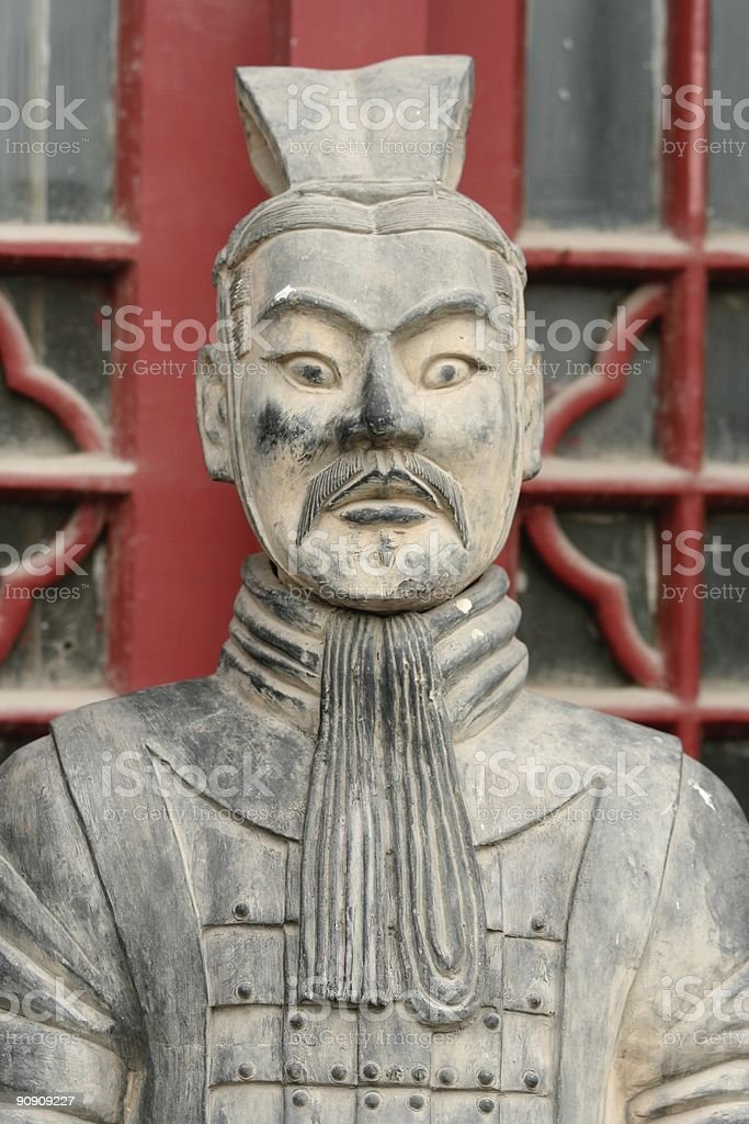 Chinese sculpture royalty-free stock photo