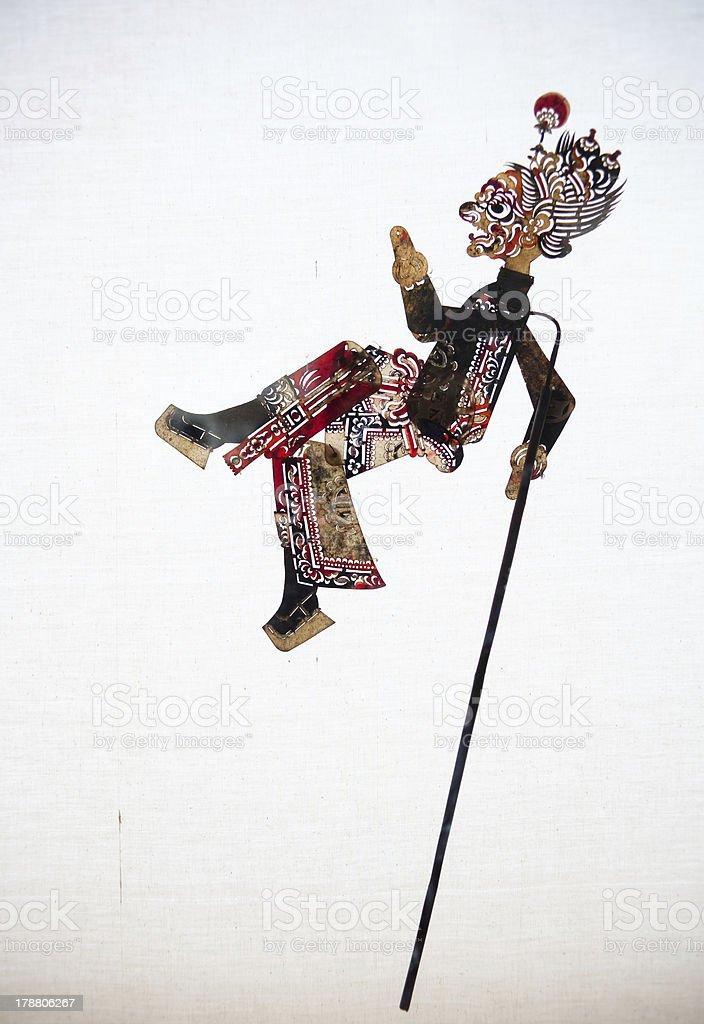 Chinese Shadow Art stock photo
