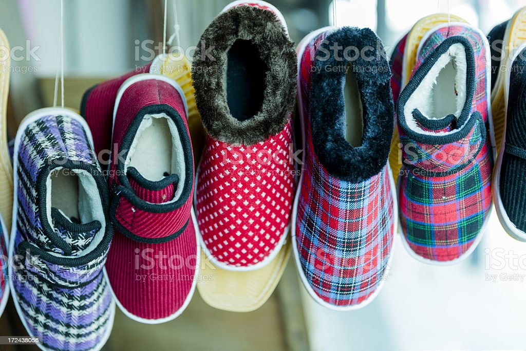 chinese shoes royalty-free stock photo