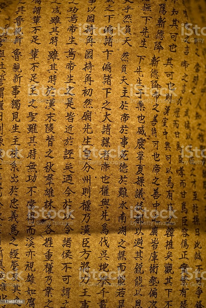 chinese signs background royalty-free stock photo