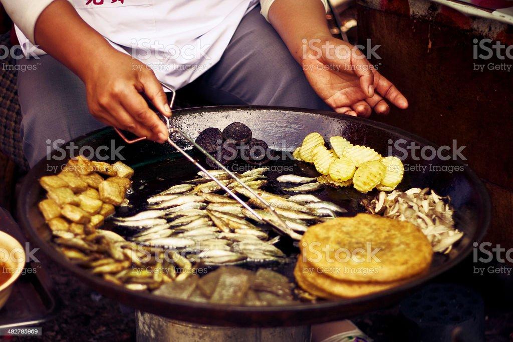 Chinese snacks royalty-free stock photo