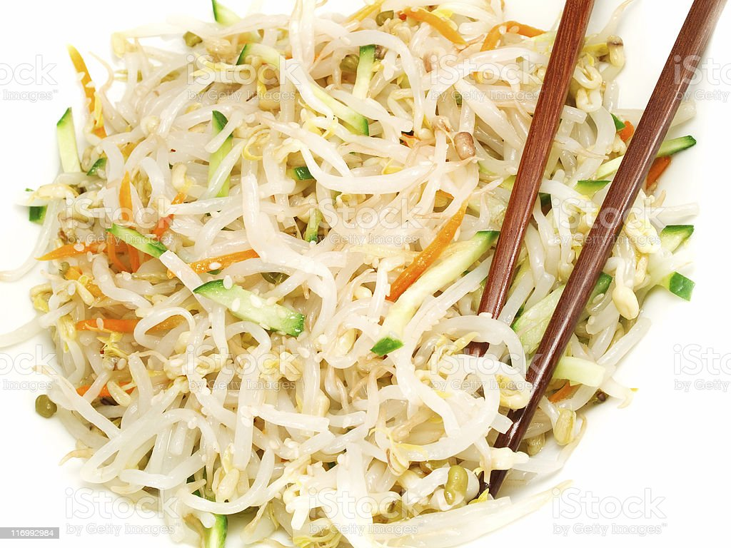 Chinese Soybean Salad royalty-free stock photo