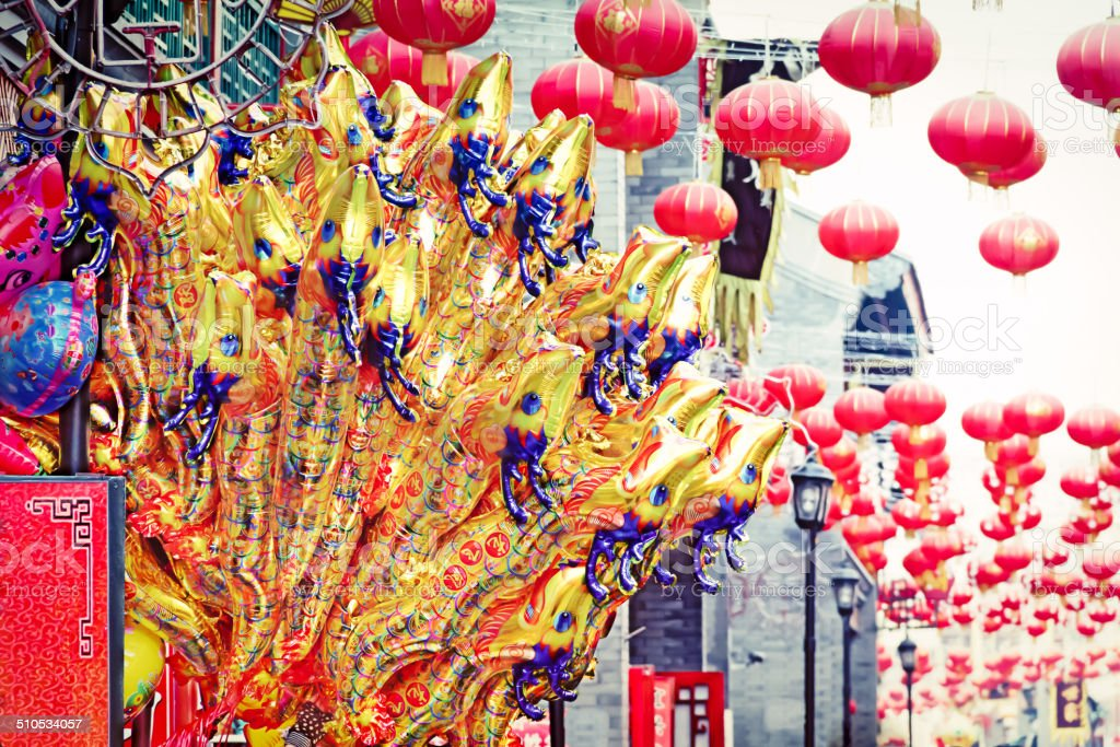 Chinese Spring Festival stock photo