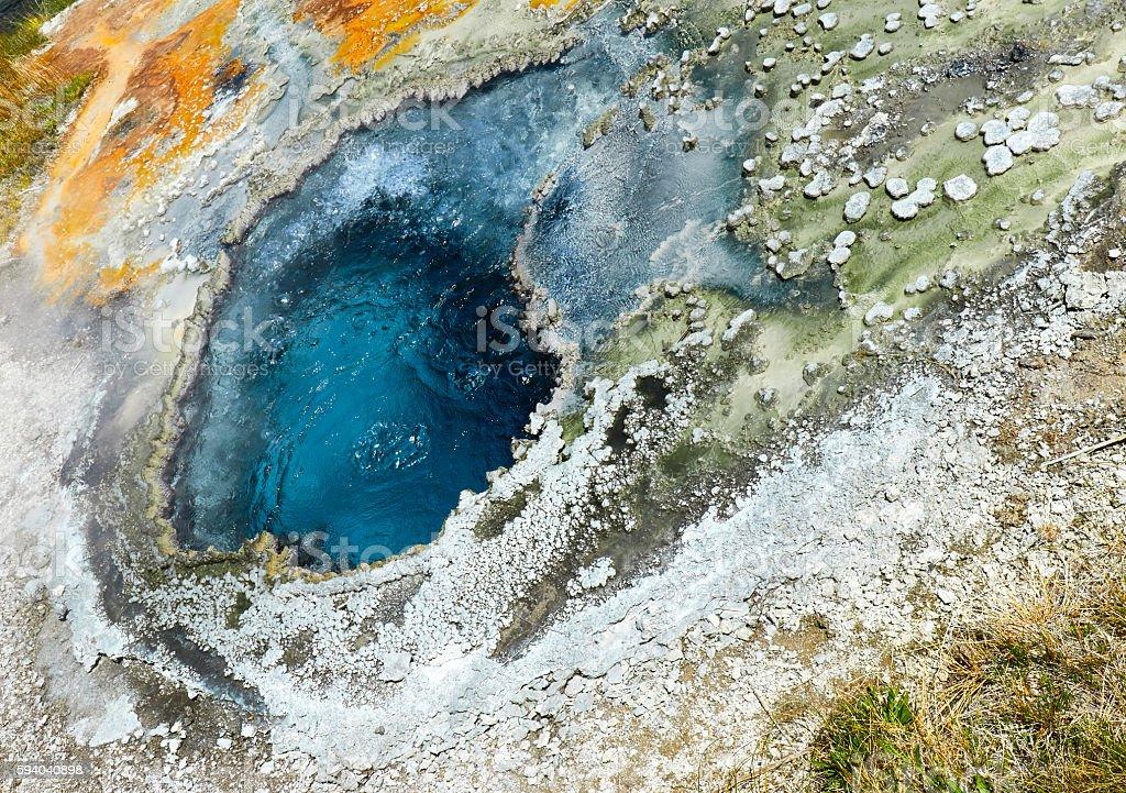 Chinese Spring, Yellowstone National Park, Wyoming stock photo