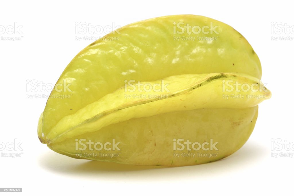 Chinese star fruit royalty-free stock photo