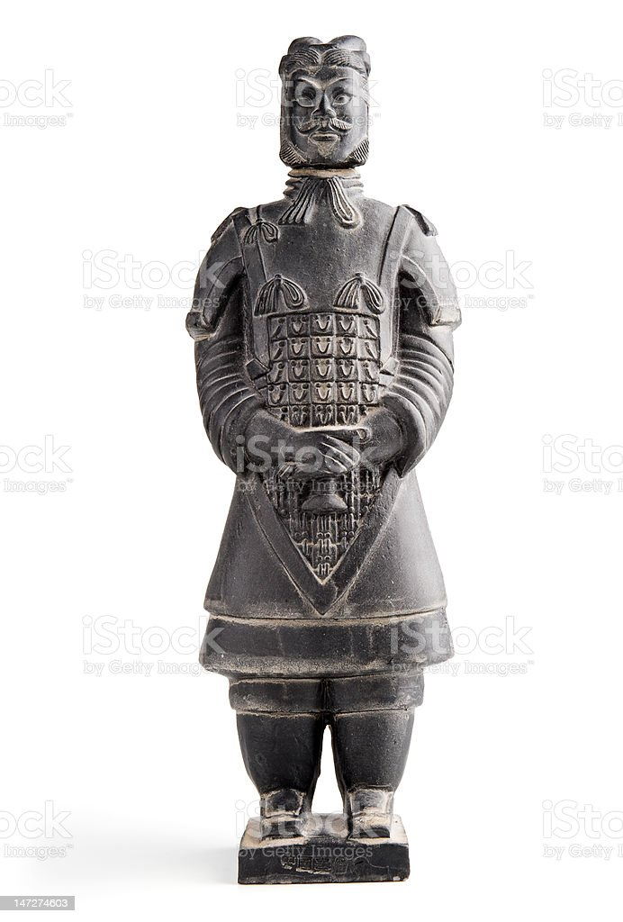 Chinese statue stock photo