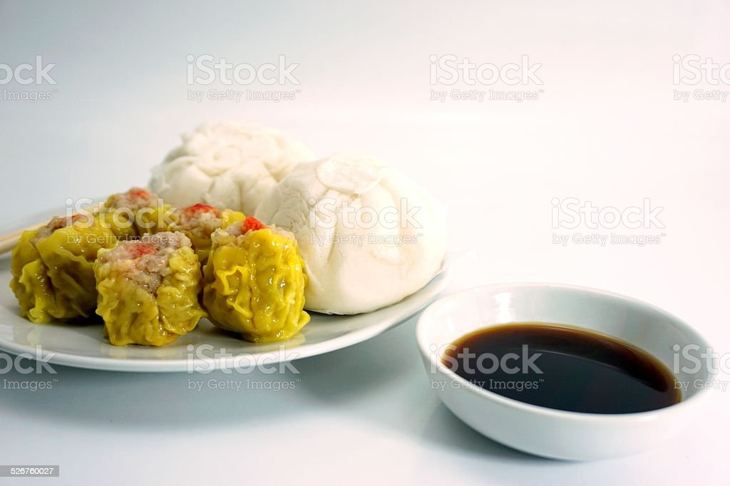 Chinese steamed buns and cakes 002 stock photo