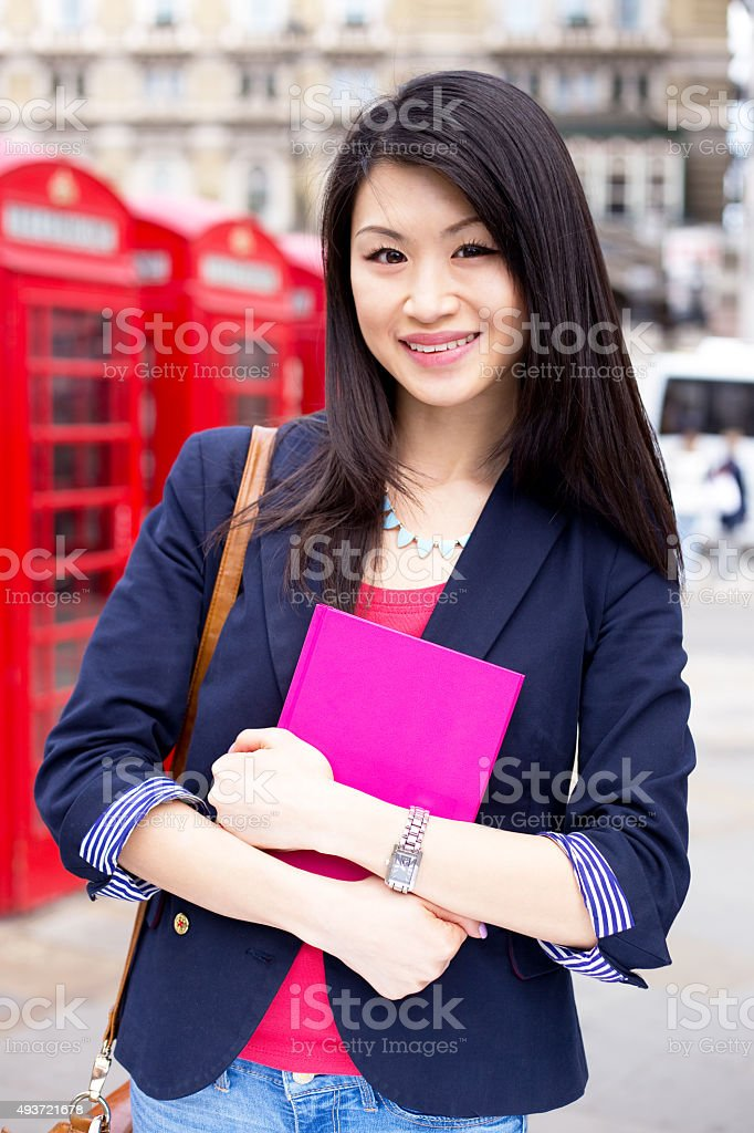 chinese student royalty-free stock photo