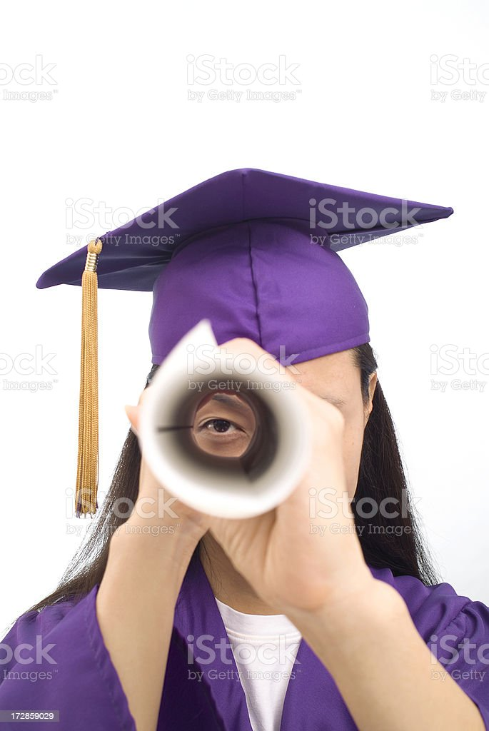 Chinese Student Series royalty-free stock photo