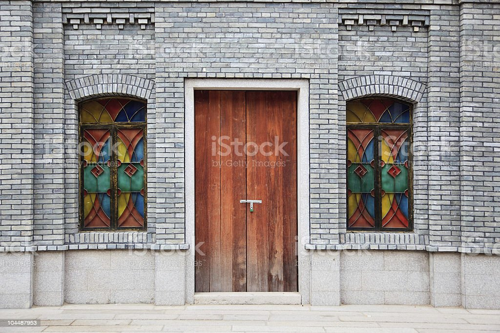 Chinese style building royalty-free stock photo