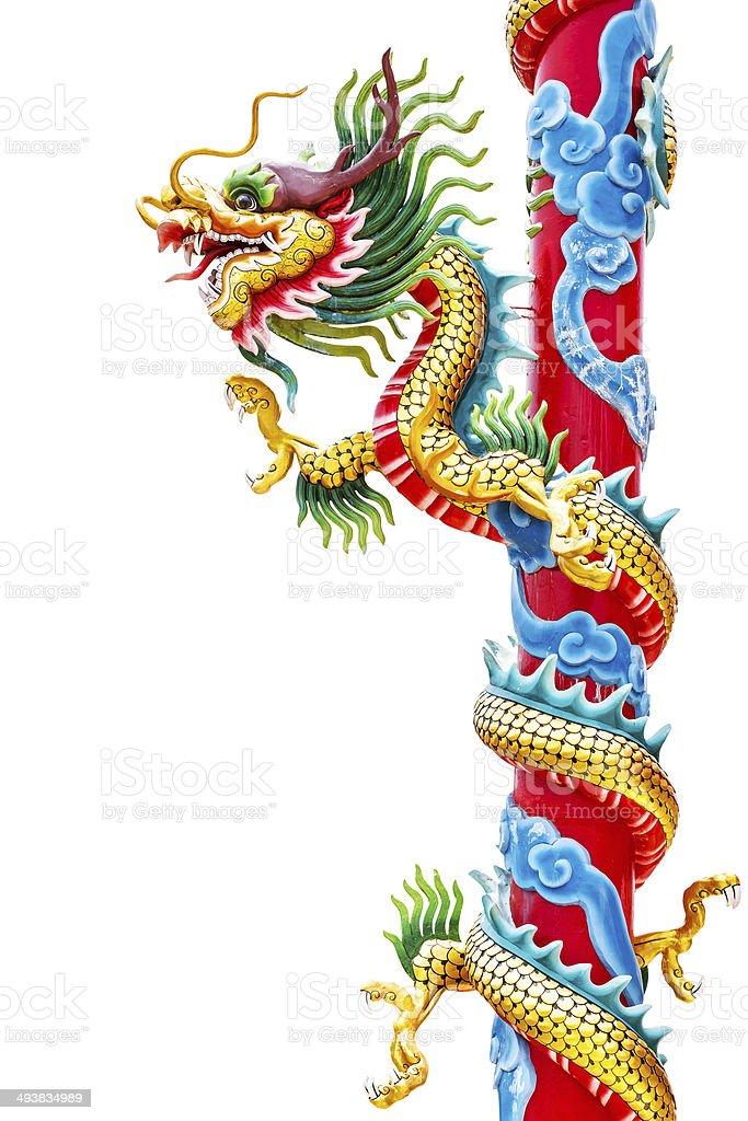 Chinesischen Stil Drachen Lizenzfreies stock-foto