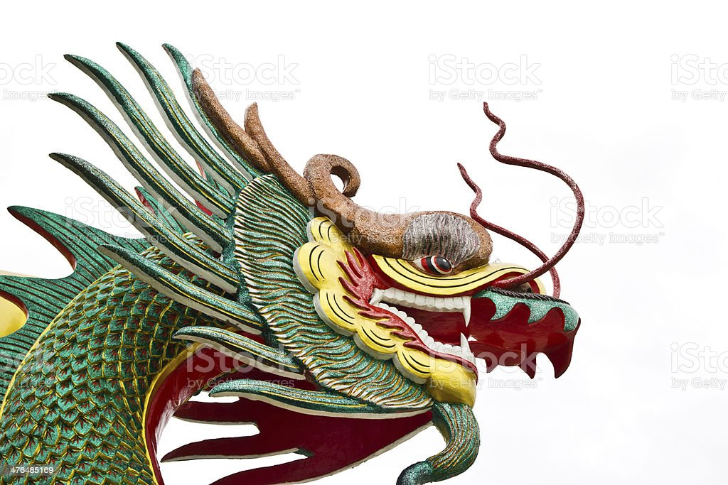Chinese style dragon statue t royalty-free stock photo