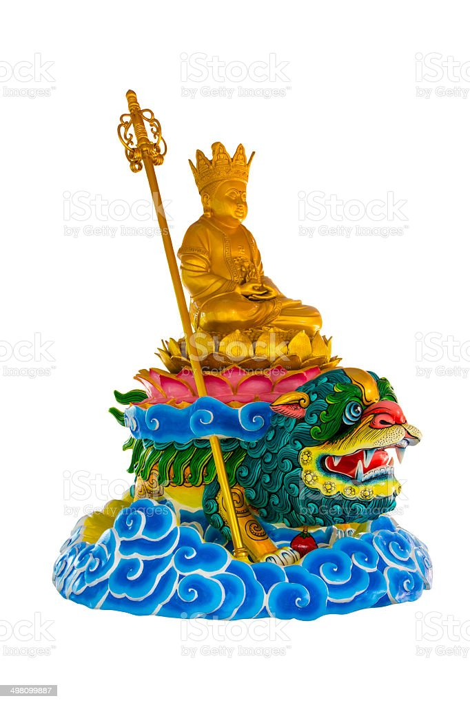 Chinese Style of Buddha Statue royalty-free stock photo