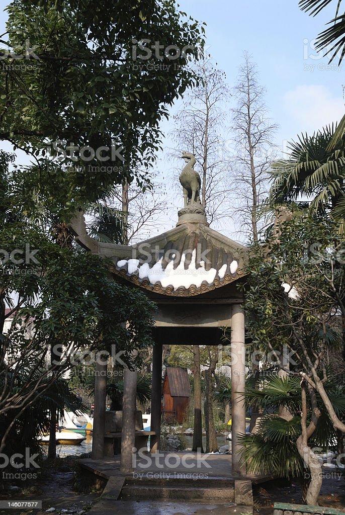 Chinesischen Stil Regal Lizenzfreies stock-foto