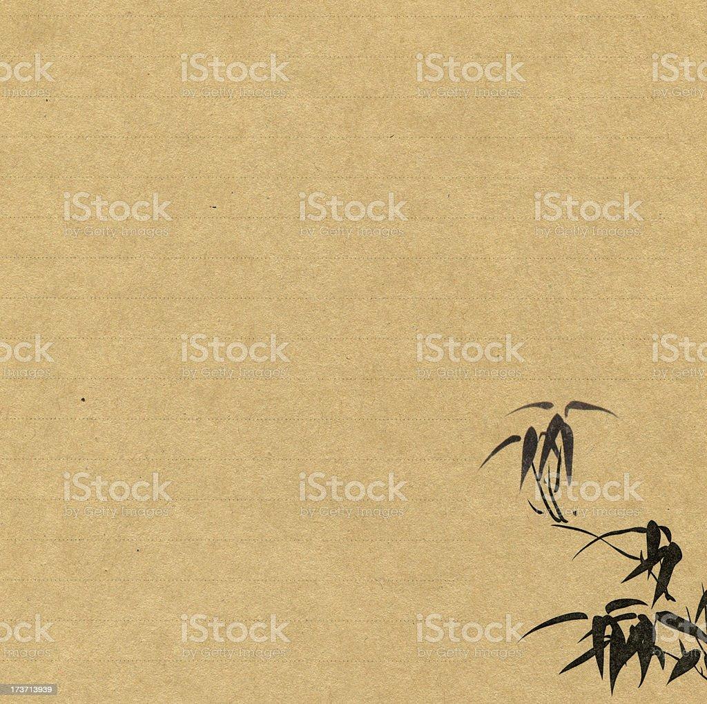 Chinese style stationery stock photo