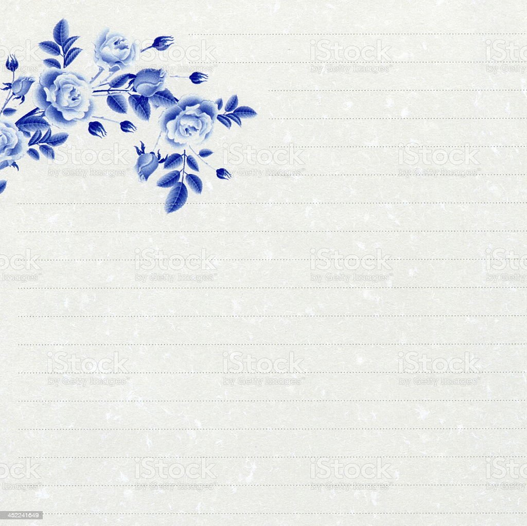 Chinese style stationery stock photo