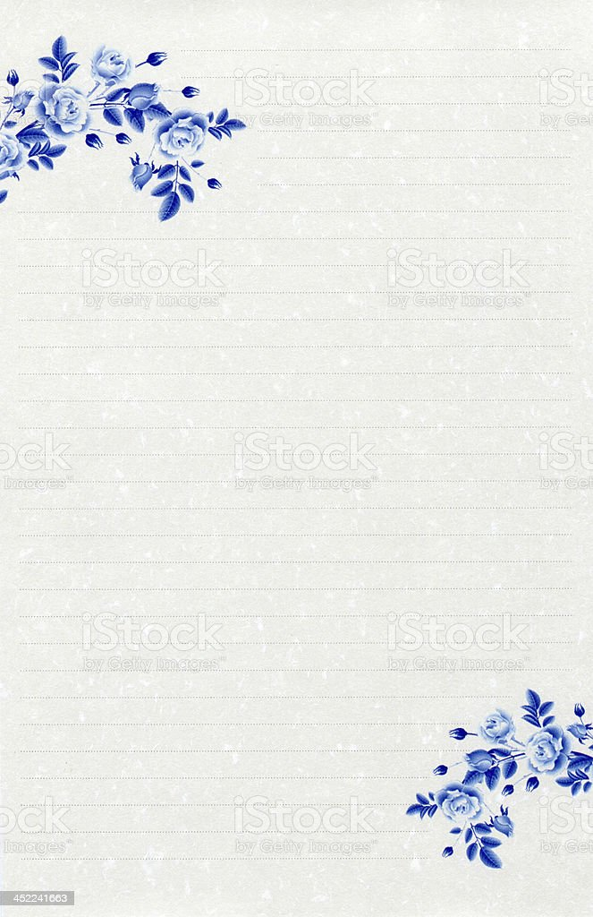 Chinese style stationery royalty-free stock photo