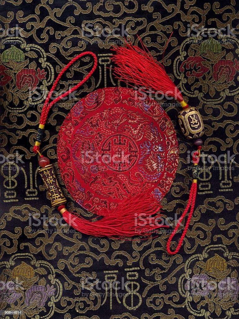 Chinese symbols stock photo