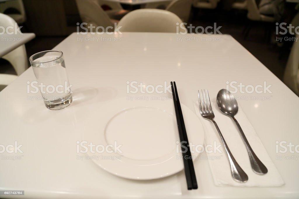 Chinese tableware stock photo