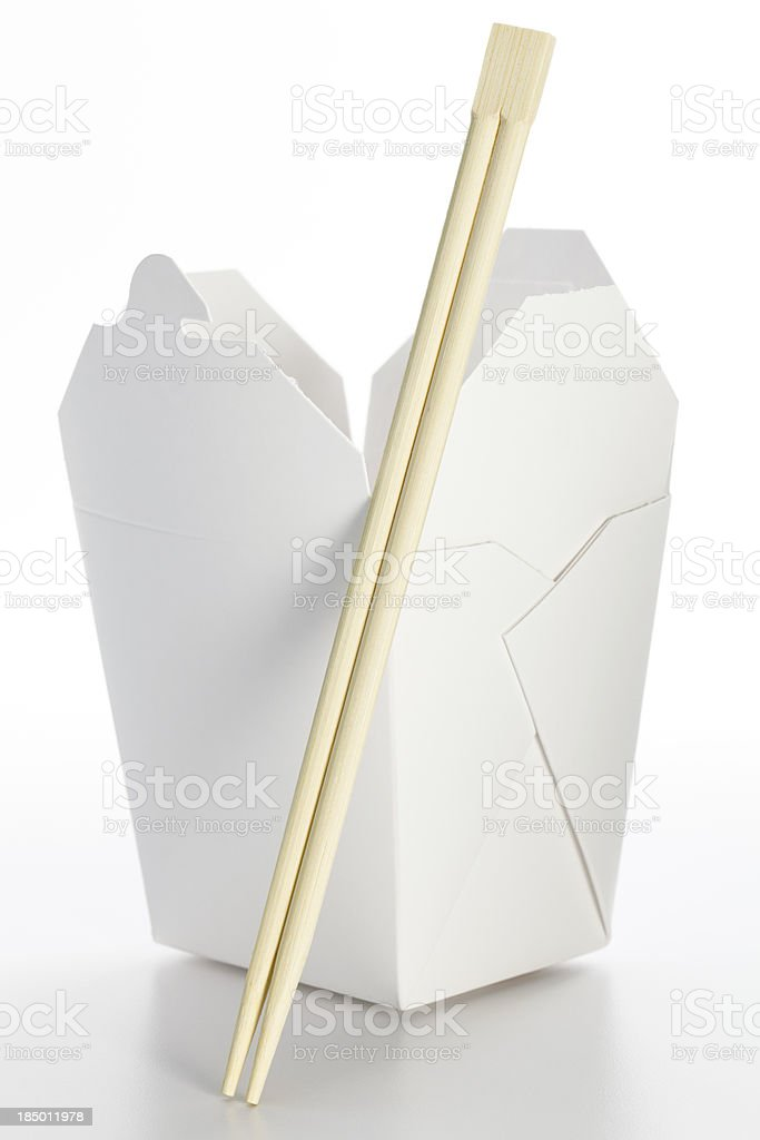 Chinese Takeout royalty-free stock photo