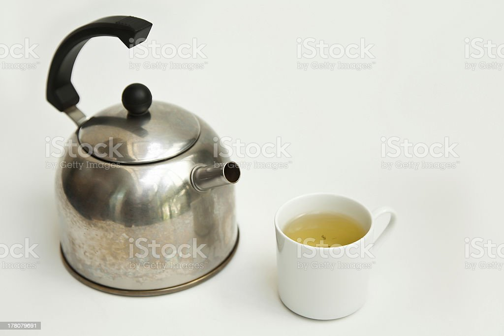 Chinese tea and teapot royalty-free stock photo