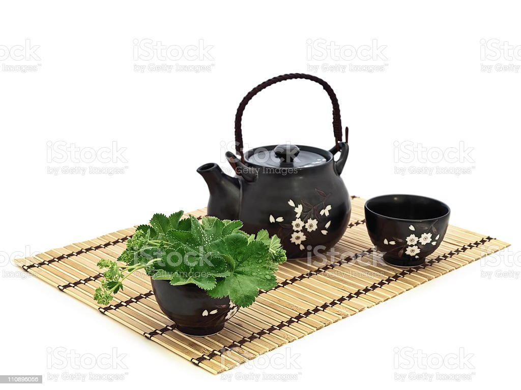 chinese tea ceremony royalty-free stock photo