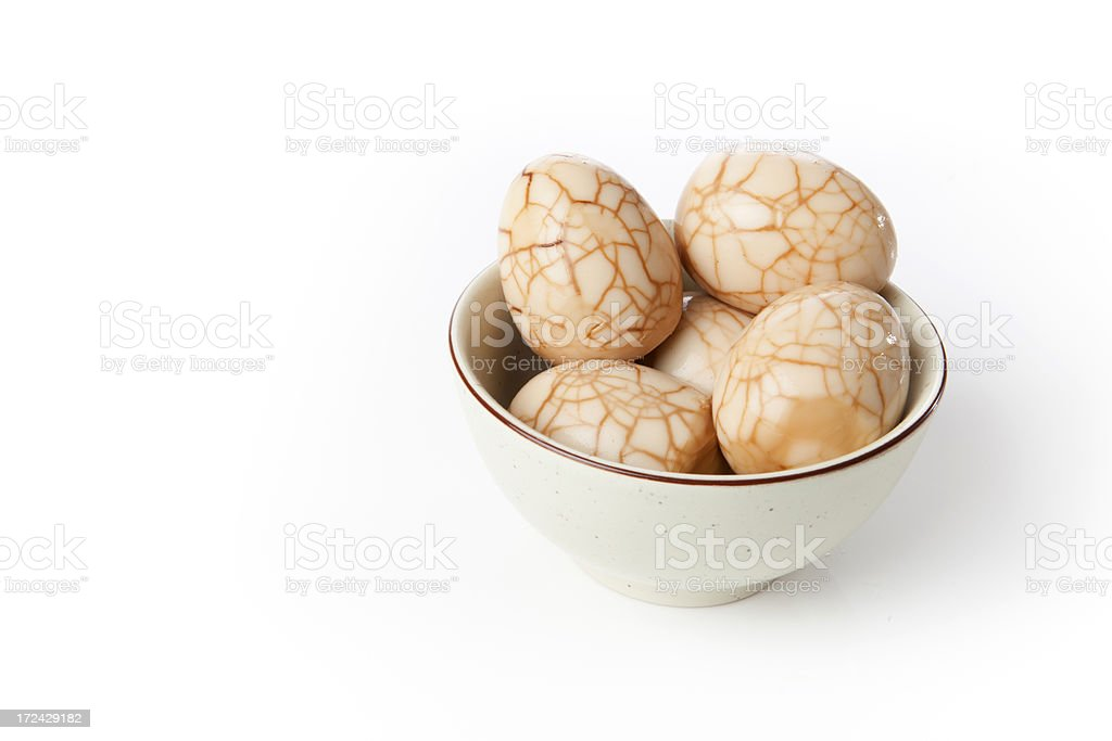Chinese Tea Egg royalty-free stock photo