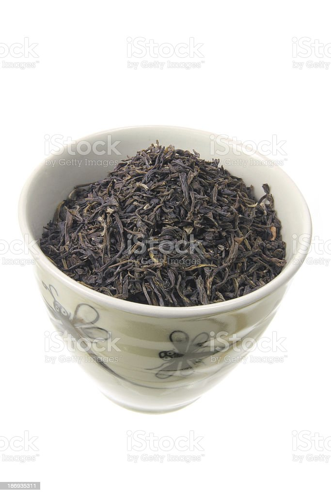 Chinese Tea in Cup royalty-free stock photo
