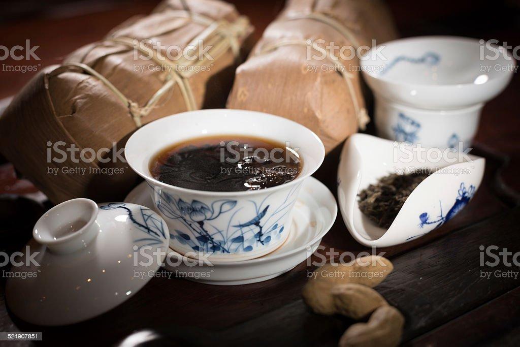 Chinese Tea stock photo