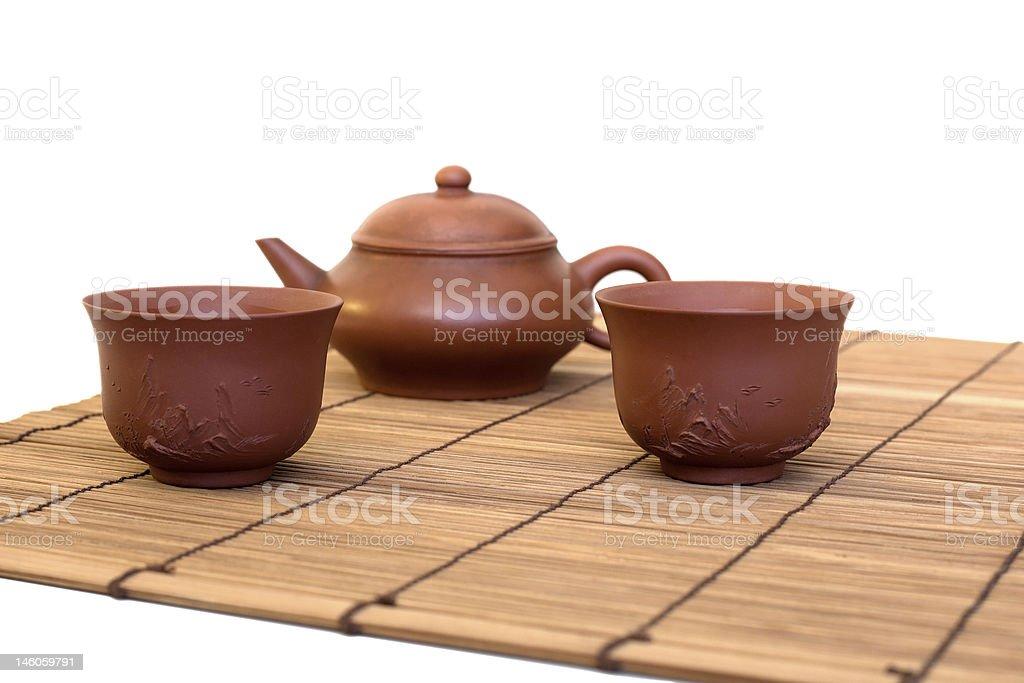 Chinese Tea Set royalty-free stock photo