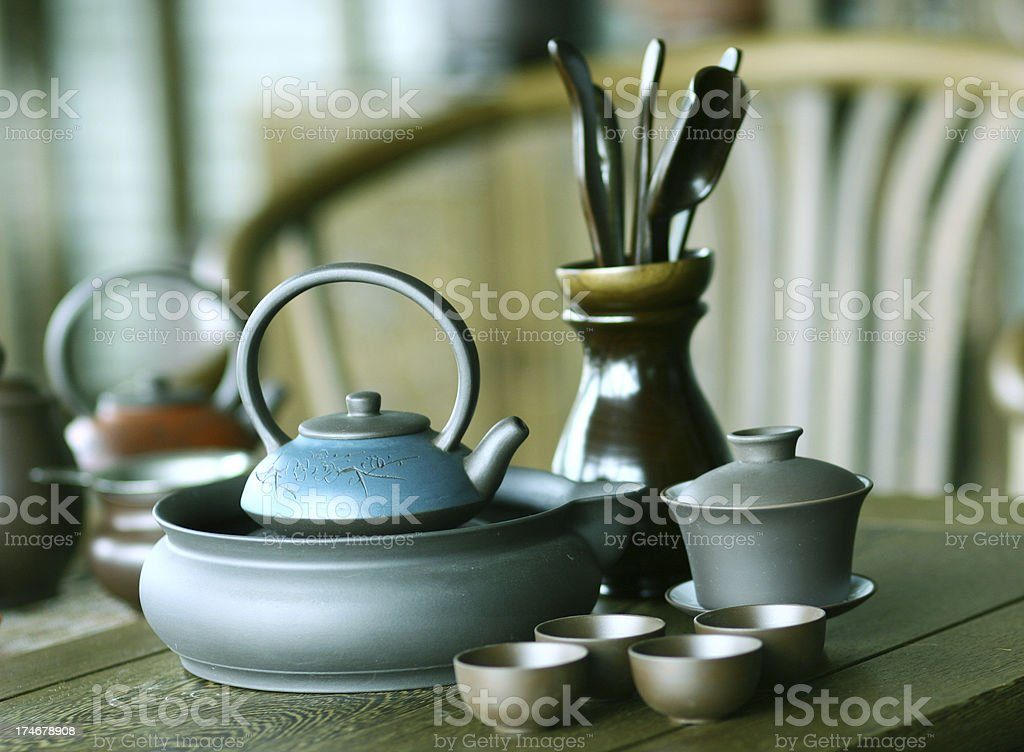 Chinese tea time royalty-free stock photo