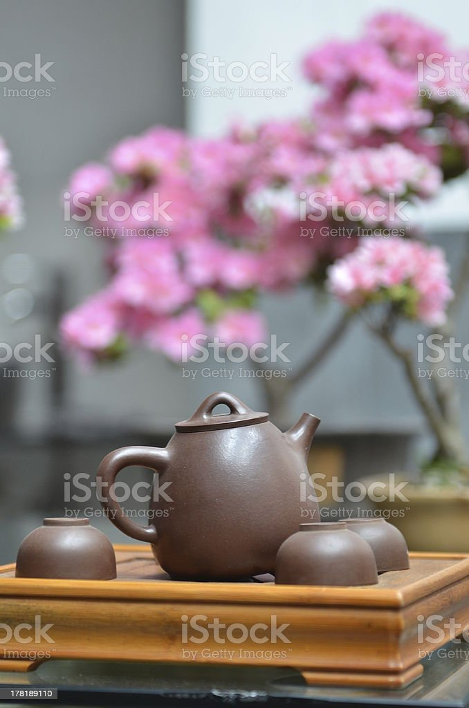Chinese teaism stock photo