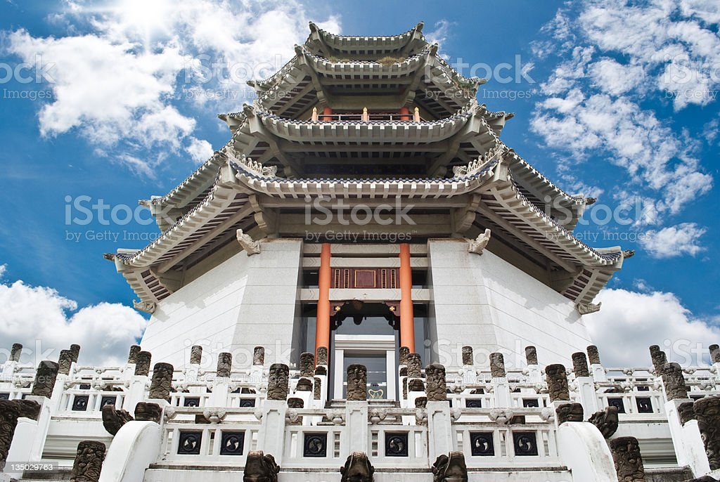 Chinese temple. stock photo