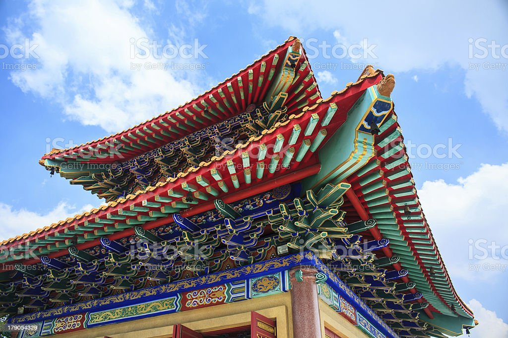 Chinese temple royalty-free stock photo