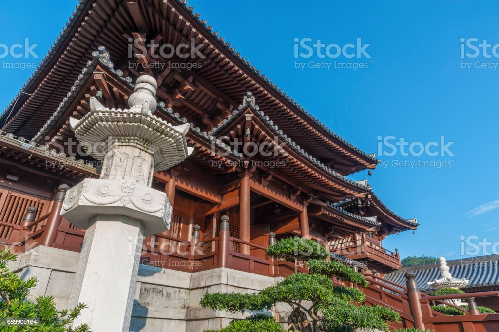 Chinese Temple stock photo