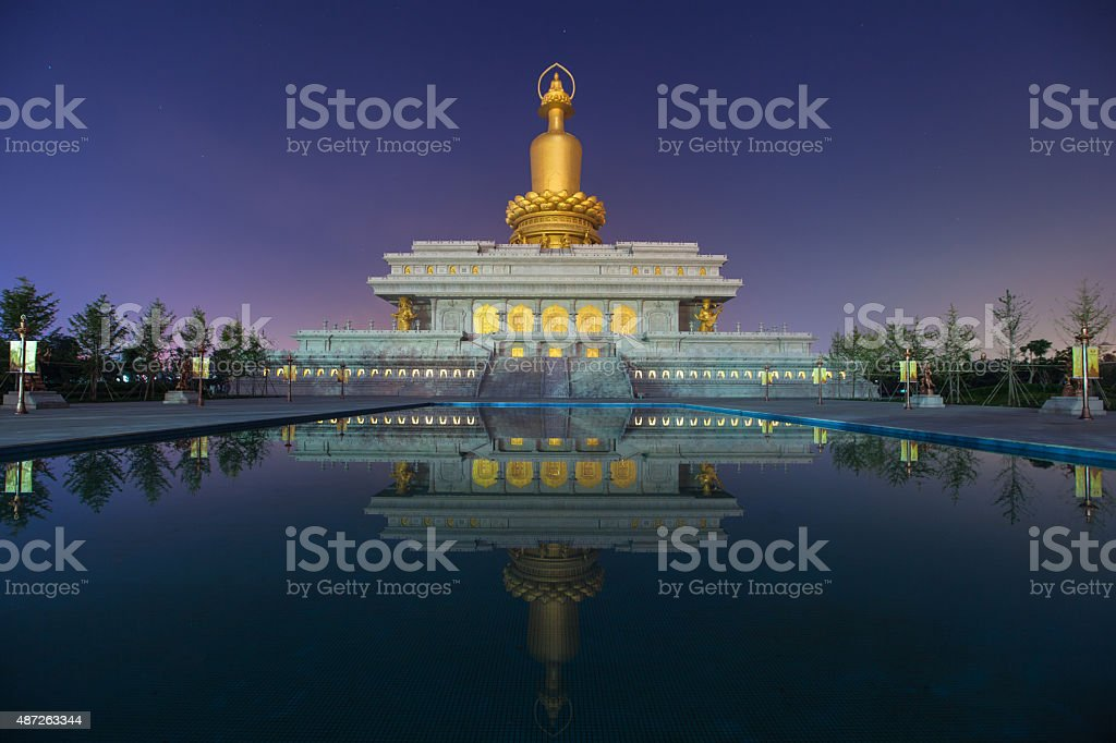 Chinese temples stock photo