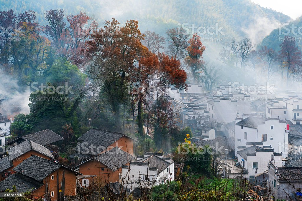 Chinese the ancient country stock photo