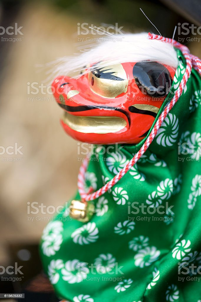 Chinese tiger new year decoration stock photo