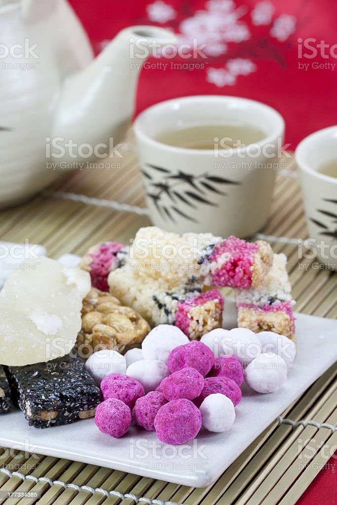 chinese tradition  snack stock photo
